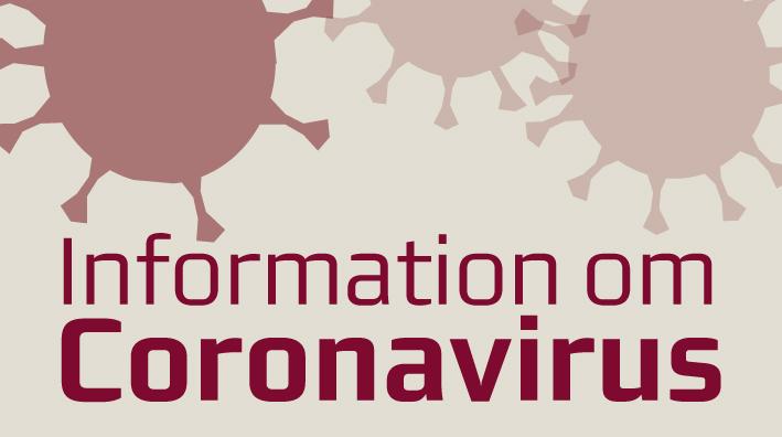 Information om coronavirus på Hospitalsenhed Midt